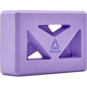 Кирпич для йоги Reebok RAYG-10035PL с прорезями (Фиолетовый)