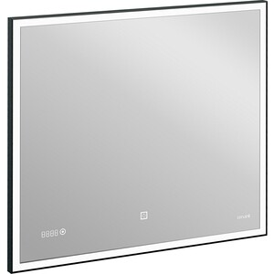 Зеркало Cersanit Led 011 Design 80x70 с часами и подсветкой (KN-LU-LED011*80-d-Os)