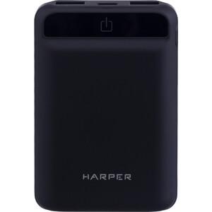 Фото - Внешний аккумулятор HARPER PB-10005 black внешний аккумулятор aukey pb at20s qc3 0 20100mah silver