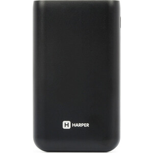 Фото - Внешний аккумулятор HARPER PB-10010 black внешний аккумулятор aukey pb at20s qc3 0 20100mah silver
