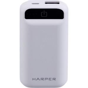 Фото - Внешний аккумулятор HARPER PB-2605 White внешний аккумулятор aukey pb at20s qc3 0 20100mah silver