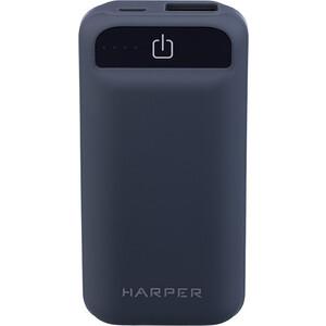 Фото - Внешний аккумулятор HARPER PB-2605 Grey внешний аккумулятор aukey pb at20s qc3 0 20100mah silver