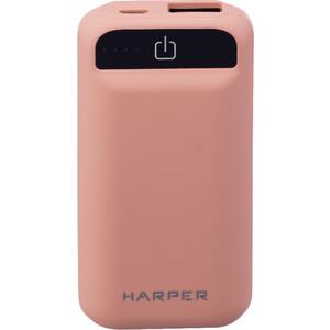 Фото - Внешний аккумулятор HARPER PB-2605 Coral внешний аккумулятор aukey pb at20s qc3 0 20100mah silver