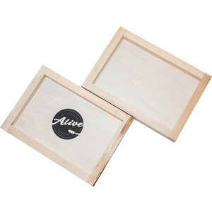 Фото - Ящик для 80 пластинок Alive Audio Nature (Wood) кровать orthosleep нью йорк бисквит шоколад механизм и ящик 90х200