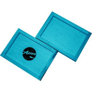 Ящик для 80 пластинок Alive Audio Nature (Blue)