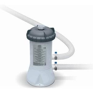 Фильтр-насос Intex 28604 2006л/ч, картридж А, для бассейнов от 366 до 457 см песочный фильтр насос intex 26644 krystal clear 4 5м3 ч резервуар для песка 12кг