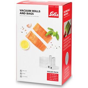 Набор рулонов и пакетов для вакуумирования Solis Value Pack