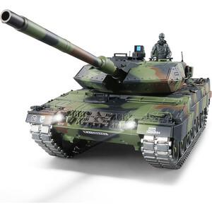 Радиоуправляемый танк Heng Long German Leopard II A6 масштаб 1:16 2.4G - 3889-1UpgA V6.0