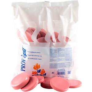 Воск для депиляции горячий в дисках ProfEpil B0823 розовый 1 кг