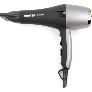 Фен Marta MT-1497 серый жемчуг