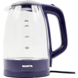 Чайник электрический Marta MT-1097 темный топаз