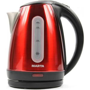 Чайник электрический Marta MT-1089 красный рубин
