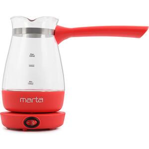 Турка электрическая Marta MT-2140 красный рубин
