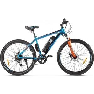 Велогибрид Eltreco XT 600 D Сине-оранжевый-2387