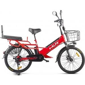 Велогибрид GREEN CITY e-ALFA GL Красный-2393