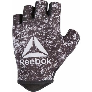 Перчатки для фитнеса Reebok белый/черн S, RAGB-13633 перчатки для mma reebok glove medium rscb 10320rdbk