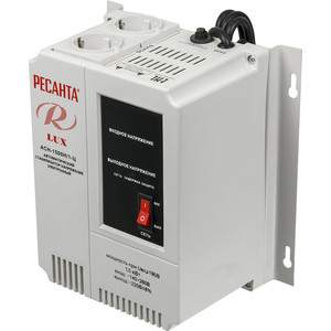 Стабилизатор напряжения Ресанта АСН-1 500 Н/1-Ц Lux стабилизатор ресанта ach 500 н 1ц