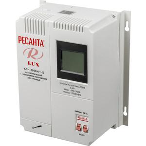 цена на Стабилизатор напряжения Ресанта АСН-3 000Н/1-Ц Lux