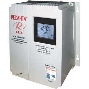 Стабилизатор напряжения Ресанта АСН-5 000 Н/1-Ц Lux стабилизатор напряжения ресанта асн 5 000 1 ц