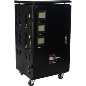 Стабилизатор напряжения Ресанта АСН-30000/3-ЭМ зарядное устройство remax infinite rp w10 black