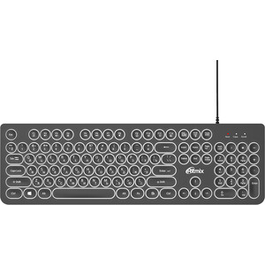 Клавиатура Ritmix RKB-214BL black