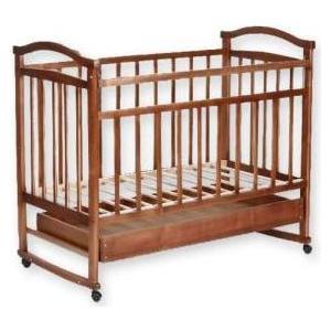 Кроватка Агат Золушка 2 орех 52101