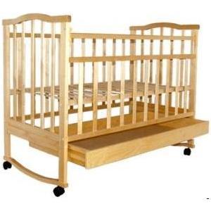 Кроватка Агат Золушка 2 светлая 52100