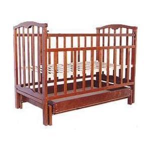 Кроватка Агат Золушка 4 вишня 52103
