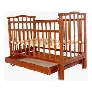 Кроватка Агат Золушка 4 орех 52101