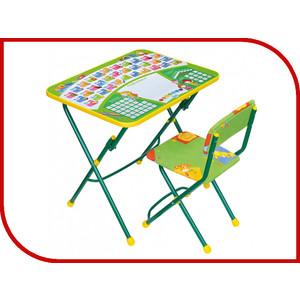 Набор мебели Ника КУ1 Первоклашка (зеленый каркас)