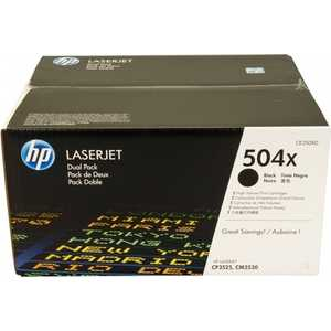 Картридж HP двойной Black (CE250XD) hp q5950ac black