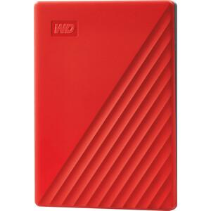 Внешний жесткий диск Western Digital 2TB WDBYVG0020BRD-WESN,My Passport 2.5, USB 3.0, Красный