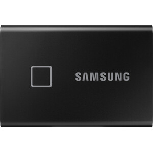 SSD накопитель Samsung 2TB T7 Touch MU-PC2T0K, 3D NAND TLC, USB 3.2 Type-C [R/W - 1050/1000 MB/s] Black