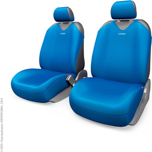 Чехлы-майки AUTOPROFI на передние сиденья R-1 SPORT PLUS R-402Pf BL