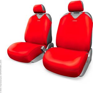 Чехлы-майки AUTOPROFI на передние сиденья R-1 SPORT PLUS R-402Pf RD