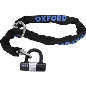 Велозамок Oxford Chain 8, цепной, 3 ключа, 100 см
