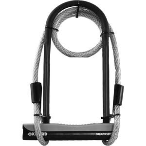Велозамок Oxford Shackle 12 DUO, 3 ключа, 276х103 мм, тросс 12х1200мм
