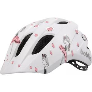 Шлем велосипедный BOBIKE Kids Plus, XS (46-52 см), детский, цвет Ballerina