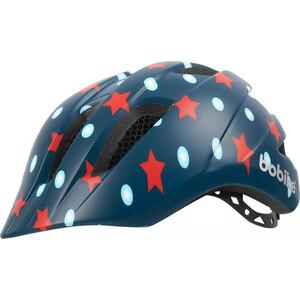Шлем велосипедный BOBIKE Kids Plus, S (52-56 см), детский, цвет Navy Stars