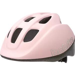 Шлем велосипедный BOBIKE GO, XS (46-53 см), детский, цвет Розовый