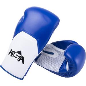 Перчатки боксерские KSA Scorpio Blue, к/з, 12 oz