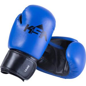 Перчатки боксерские KSA Spider Blue, к/з, 14 oz