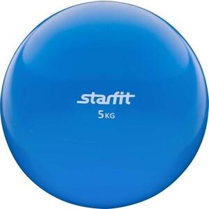 Медбол Starfit GB-703, 5 кг, синий 1/2