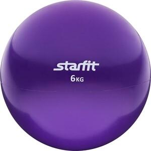Медбол Starfit GB-703, 6 кг, фиолетовый 1/2