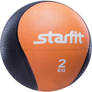 Медбол Starfit Pro GB-702, 2 кг, оранжевый 1/6