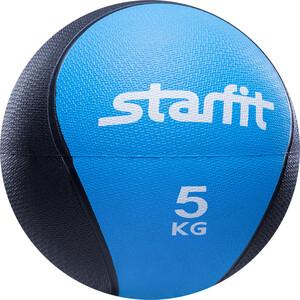 Медбол Starfit Pro GB-702, 5 кг, синий 1/4