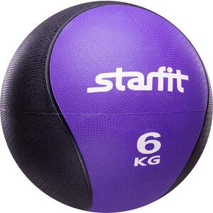 Медбол Starfit Pro GB-702, 6 кг, фиолетовый 1/2