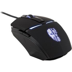 Мышь Oklick 795G GHOST черный оптическая (2400dpi) USB (5but)