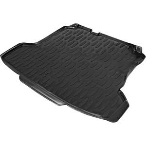 коврик багажника autoflex для skoda rapid i ii лифтбек 2012 н в volkswagen polo vi лифтбек 2020 н в полиуретан черный 9510102 Коврик багажника AutoFlex для Volkswagen Polo V седан (2010-2020), полиуретан, черный, 9580102