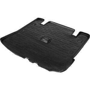 Коврик багажника AutoFlex для Lada Largus универсал (7 мест) (2012-н.в.), Cross (2014-н.в.), полиуретан, черный, 9600305